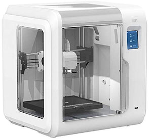Monoprice 135881 Voxel 3D Printer - White with Removable Heated Build Plate (150 X 150 Mm) Fully Enclosed, Touch Screen, Assisted Level, Wi-Fi, 8Gb