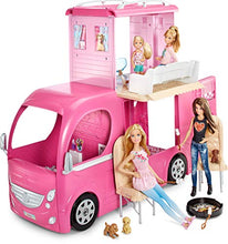 Load image into Gallery viewer, Barbie Pop-Up Camper Vehicle Exclusive Toys & Games