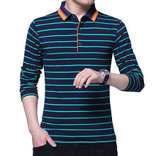 Load image into Gallery viewer, Wishere New Men's Fashion T-Shirt Cotton Long-Sleeved Polo Shirt