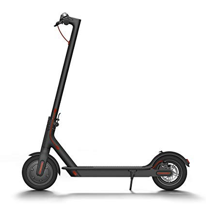 Electric Scooter, 18.6 Miles Long-range Battery, Up to 15.5 MPH, Easy Fold-n-Carry Design, Ultra-Lightweight Adult Electric Scooter (US Version with Warranty)