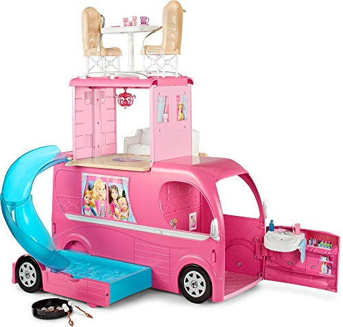 Barbie Pop-Up Camper Vehicle Exclusive Toys & Games