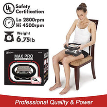 Load image into Gallery viewer, Daiwa Felicity Chiropractic Massager Professional Heavy Duty Rub Variable Speed Massager Max Pro Featuring a Large Vibrating Pad