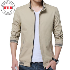 Brand New Men Casual Jacket Coat Men's Fashion Washed 100% Pure Cotton
