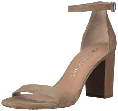 Collective Women's Loyal Block Heel Dress Sandal-High Heeled