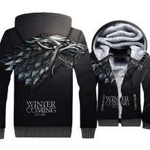 Load image into Gallery viewer, Game Of Thrones Hoodies Winter Is Coming Print 3D Jackets for Men