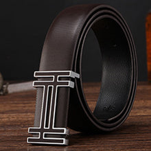 Load image into Gallery viewer, New Arrival designer belts mens high quality cowskin Leather straps luxury brand