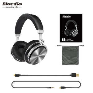 Bluedio T4S Active Noise Cancelling Wireless Bluetooth Headphones wireless Headset with microphone