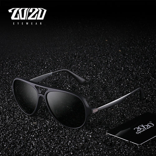Brand Polarized Vintage Sunglasses Aluminum Frame Sun Glasses Men's Eyewear