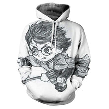 Load image into Gallery viewer, Autumn Harry Potter 3d Print Hoodie  Sweatshirt