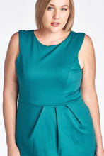 Load image into Gallery viewer, Women's Plus Size Ponte Sheath Dress