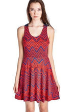 Load image into Gallery viewer, Women's Printed Jersey Dress