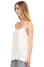Load image into Gallery viewer, Women's V-neck Line Detail Lightweight Top