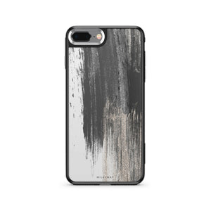 Gold Swipe - Slate iPhone Case
