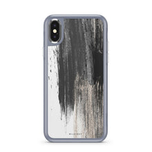 Load image into Gallery viewer, Gold Swipe - Slate iPhone Case