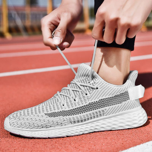 Yeezys Air 350 Men Running Shoes Men Sport Shoes Breathable Comfortable Athletic Trainer Sneakers