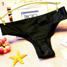 Load image into Gallery viewer, Bikini Bottom Bathing Beach Swimwear Briefs Thong Women's Swimming Suit Sexy Hollow Heart