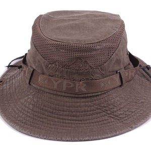 Men's Bob Summer Bucket Hats Outdoor Fishing Wide Brim Hat UV Protection