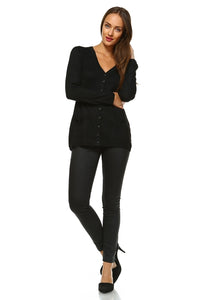 Women's Lightweight V-Neck Cardigan