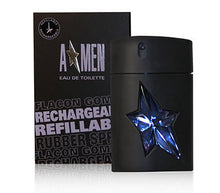 Load image into Gallery viewer, A-Men For Men By Thierry Mugler Eau De Toilette Spray Rubber Flask Refillable