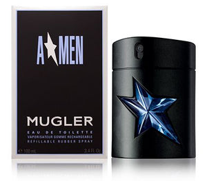 A-Men For Men By Thierry Mugler Eau De Toilette Spray Rubber Flask Refillable