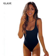 Load image into Gallery viewer, One Piece Swimsuit Sexy Swimwear Women Bathing Suit