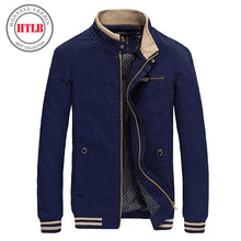 Load image into Gallery viewer, Brand New Men Casual Jacket Coat Men's Fashion Washed 100% Pure Cotton