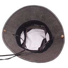 Load image into Gallery viewer, Men's Bob Summer Bucket Hats Outdoor Fishing Wide Brim Hat UV Protection