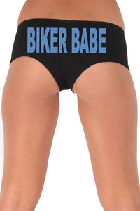 Women's Sexy Hot Booty Boy Shorts Biker Babe Block