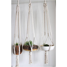 Load image into Gallery viewer, Large Macrame Plant Hanger, Hanging Planter, Plant