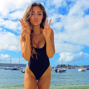 One Piece Swimsuit Sexy Swimwear Women Bathing Suit