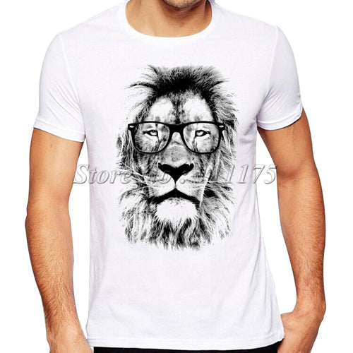 2018 Newest Fashion The King Lion Printed T-Shirt Men's Summer Cool Design
