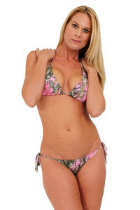 Women's Camo Bikini True Timber Swimwear: PINK
