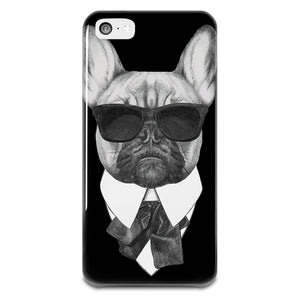 French Bulldog Karl iPhone 5-5s Plastic Case