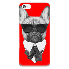Load image into Gallery viewer, French Bulldog Karl iPhone 5-5s Plastic Case
