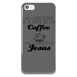 All I Need Today iPhone 5-5s Plastic Case
