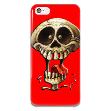 Load image into Gallery viewer, Funny Skeleton Skull iPhone 5-5s Plastic Case