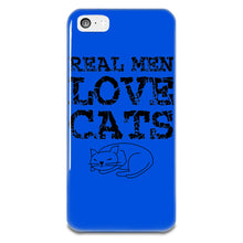 Load image into Gallery viewer, Real Men Love Cats iPhone 5-5s Plastic Case