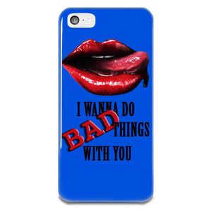 True Blood Lips iPhone 5-5s Plastic Case