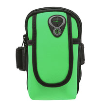 Load image into Gallery viewer, Unisex Exercise Arm Bag Running Pouch Key Holder for iPhone 6s 7Plus, Galaxy S6/S7