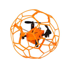 Load image into Gallery viewer, Mini Drone Helic Max Sky Walker 1340 2.4GHz 4CH Fly Ball RC Quadcopter 3D Flip Roller headless Drone RC Helicopter toys