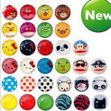 Load image into Gallery viewer, 330pcs Cartoon Rubber Home Button Sticker for iPhone 4 4s 5G ipad 2 3
