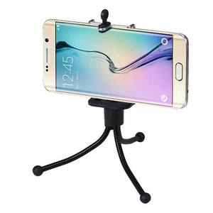 2016 New Arrival Strick Portable Universal Monopod Tripod +Clip Holder For iphone For Samsung Camera