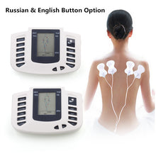 Load image into Gallery viewer, Russian Version Electronic Body Slimming Pulse Massage for Muscle Relax Pain Relief Stimulator Tens Acupuncture Therapy Machine