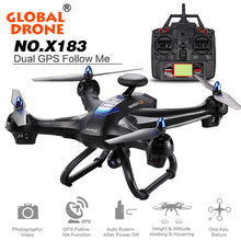 Load image into Gallery viewer, RC Drone toy Global Drone X183 With 5GHz WiFi FPV 1080P Camera GPS Brushless Quadcopter Kids toy drop shipping