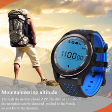 Load image into Gallery viewer, Portable Bluetooth Smart Bracelet Waterproof IP68 Sport Watch Support Message Remind/Clock Display for Android iOS iPhone