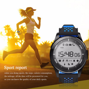 Portable Bluetooth Smart Bracelet Waterproof IP68 Sport Watch Support Message Remind/Clock Display for Android iOS iPhone