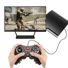 Load image into Gallery viewer, Wireless Bluetooth 3.0 Gamepad Controller with holder available Rechargeable for  iPhone TV Android iOS Windows Smartphone
