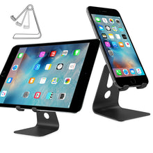 Load image into Gallery viewer, Powstro Aluminum Stand Holder For iphone 7 6 6S Plus SE For Samsung Huawei For Ipad Tablet PC Flexiable