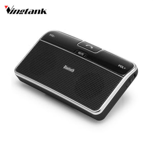 Vingtank  Wireless Bluetooth Handsfree Car Kit Speakerphone Sun Visor Clip For iPhone & All Mobiles Build in Mic & Speaker