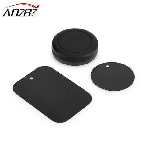 AOZBZ Magnetic Car Phone Holder Bracket Stand for Samsung/iPhone /Huawei Accessories GPS Stent Stick on Flat Dashboard